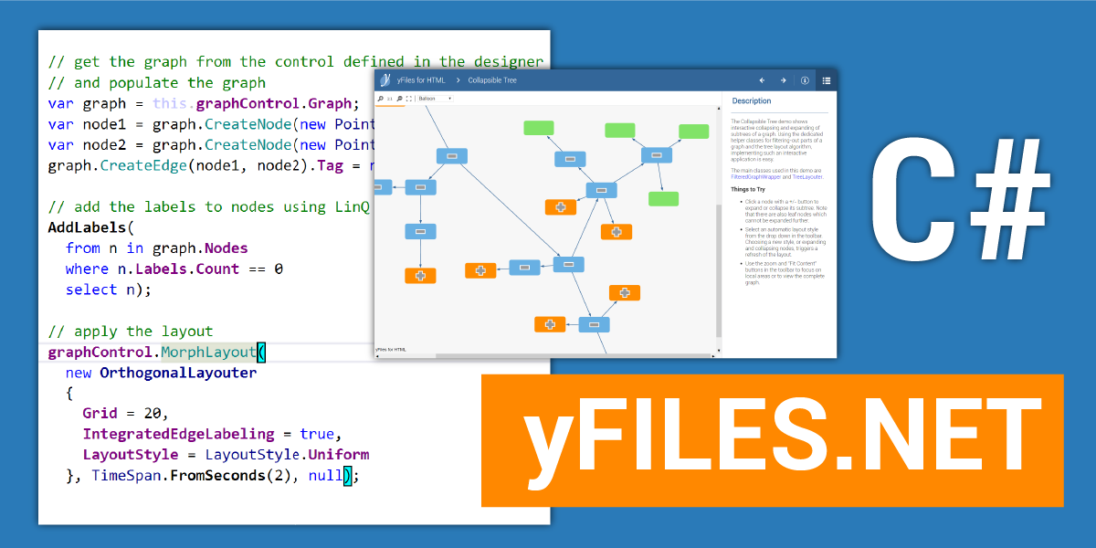 yFiles NET - Graph Layout and Visualization Library